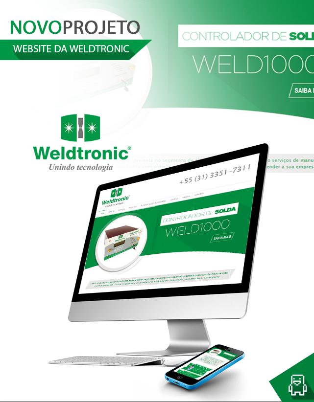 Criação de sites para empresas de tecnologia - Weldtronic