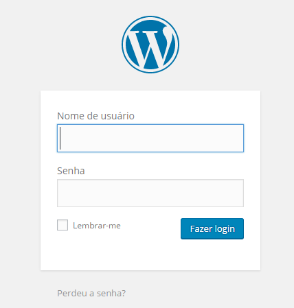 Login WordPress