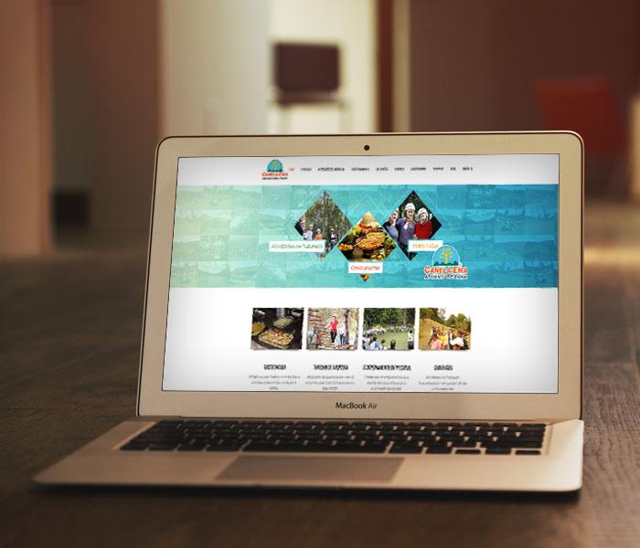 Criação de Sites para Parques de Aventura