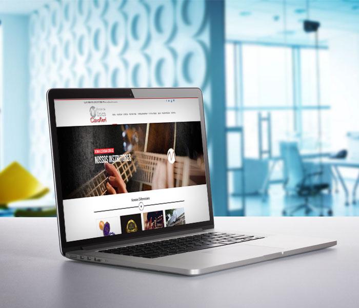 Criação de Sites para Escolas de Música