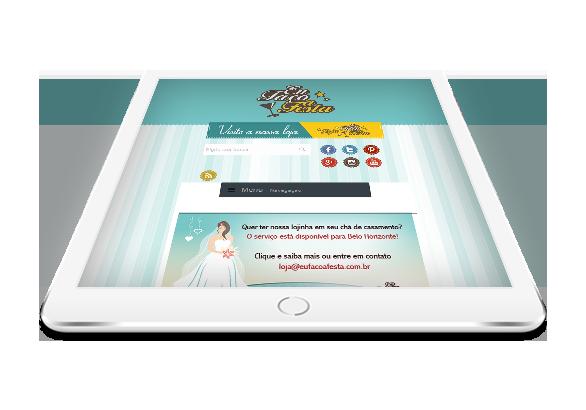 Criação de Sites para Portais de Festas