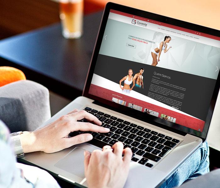 Criação de Sites para Clínicas de Fisioterapia