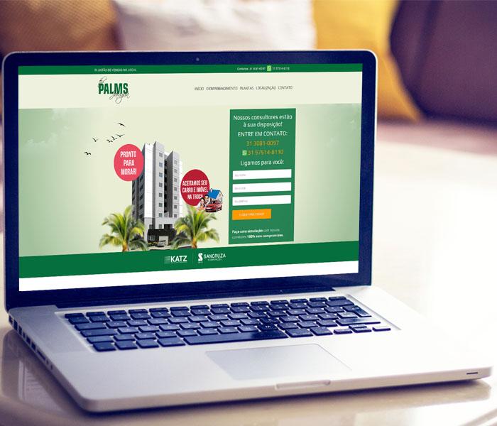 Criação de Landing Page para Construtoras