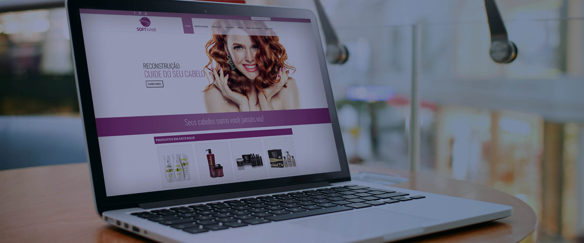 Criação de sites para indústrias de cosméticos