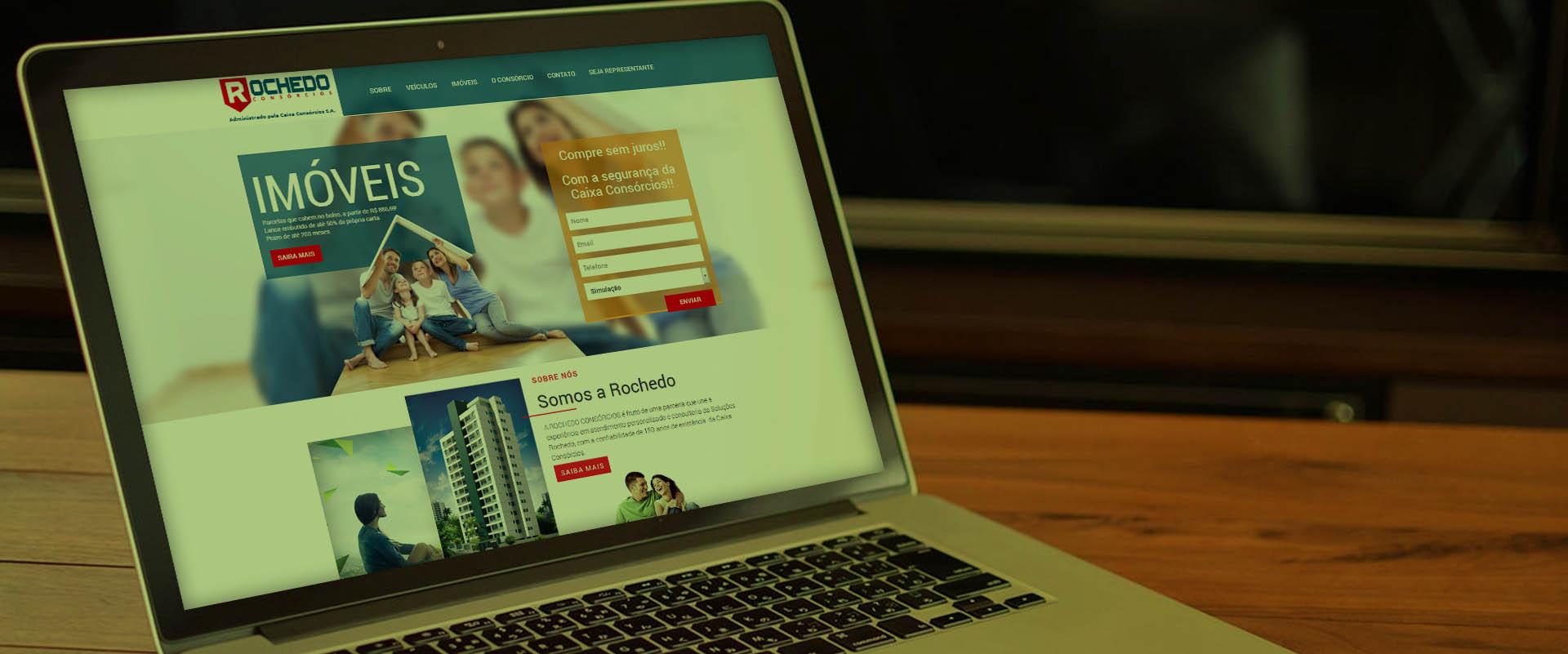 Criação de sites para seguradoras
