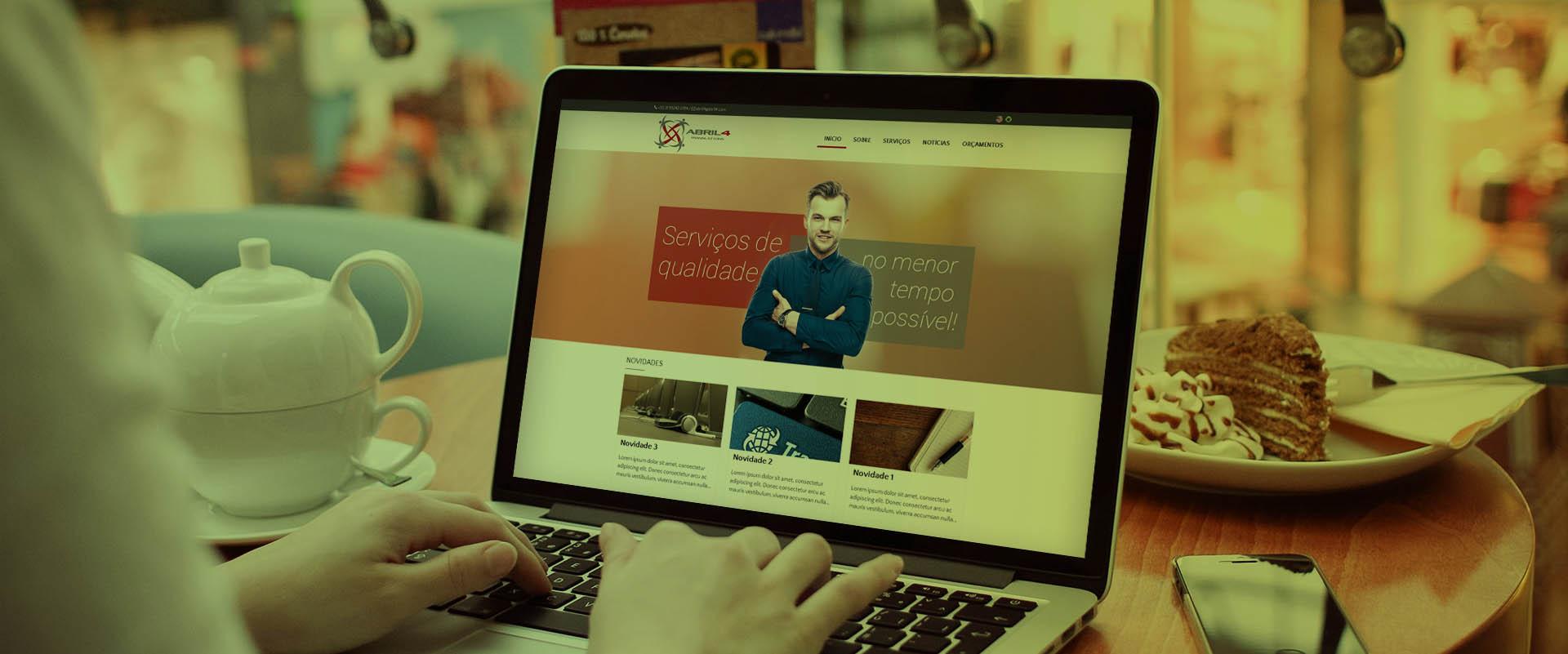 Criação de sites para empresas de tradução
