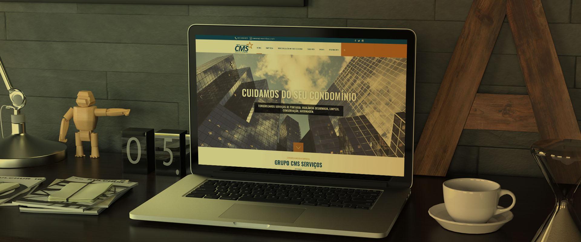 Criação de sites para Administradora de Condomínios