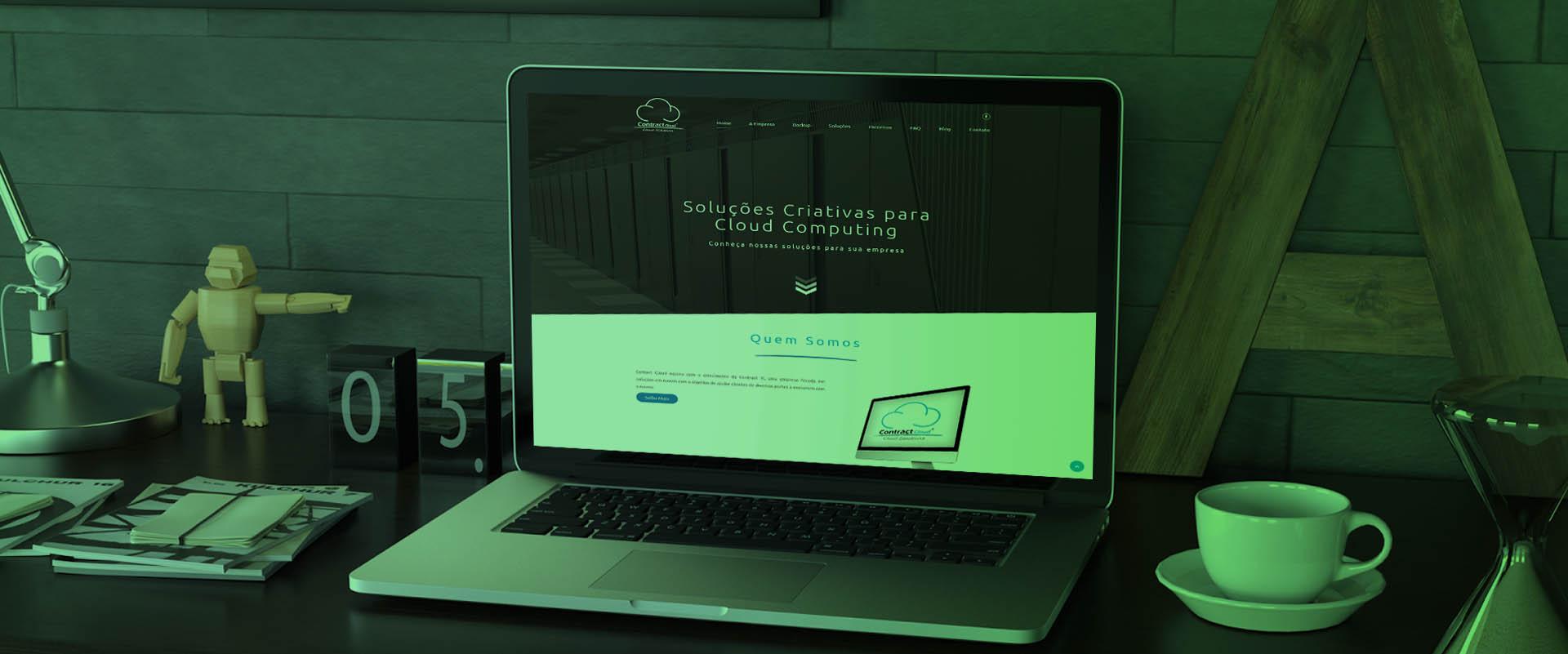 Criação de sites para empresas de tecnologia