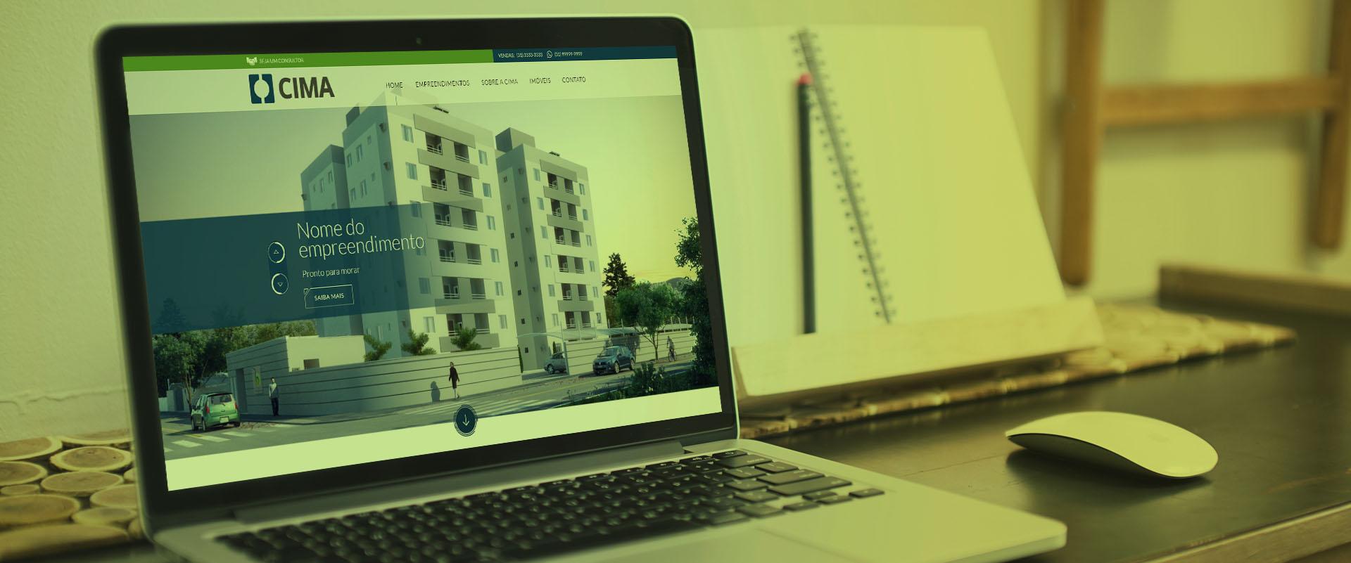 Criação de sites para construtoras