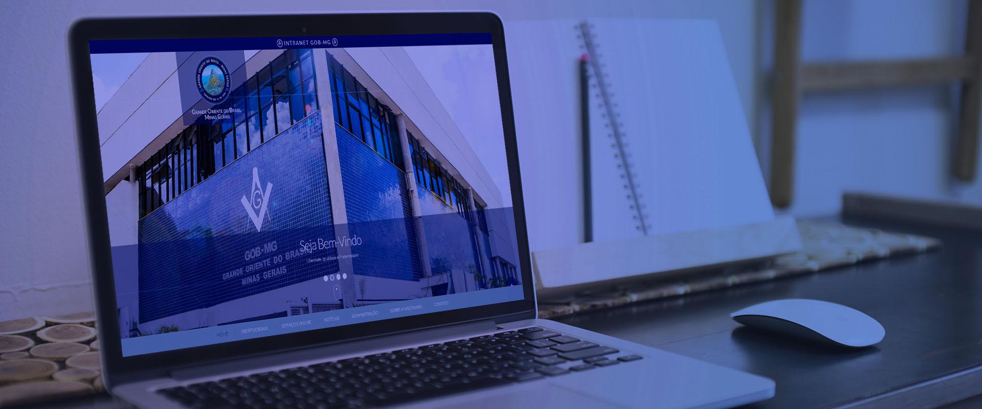 Criação de sites para instituições