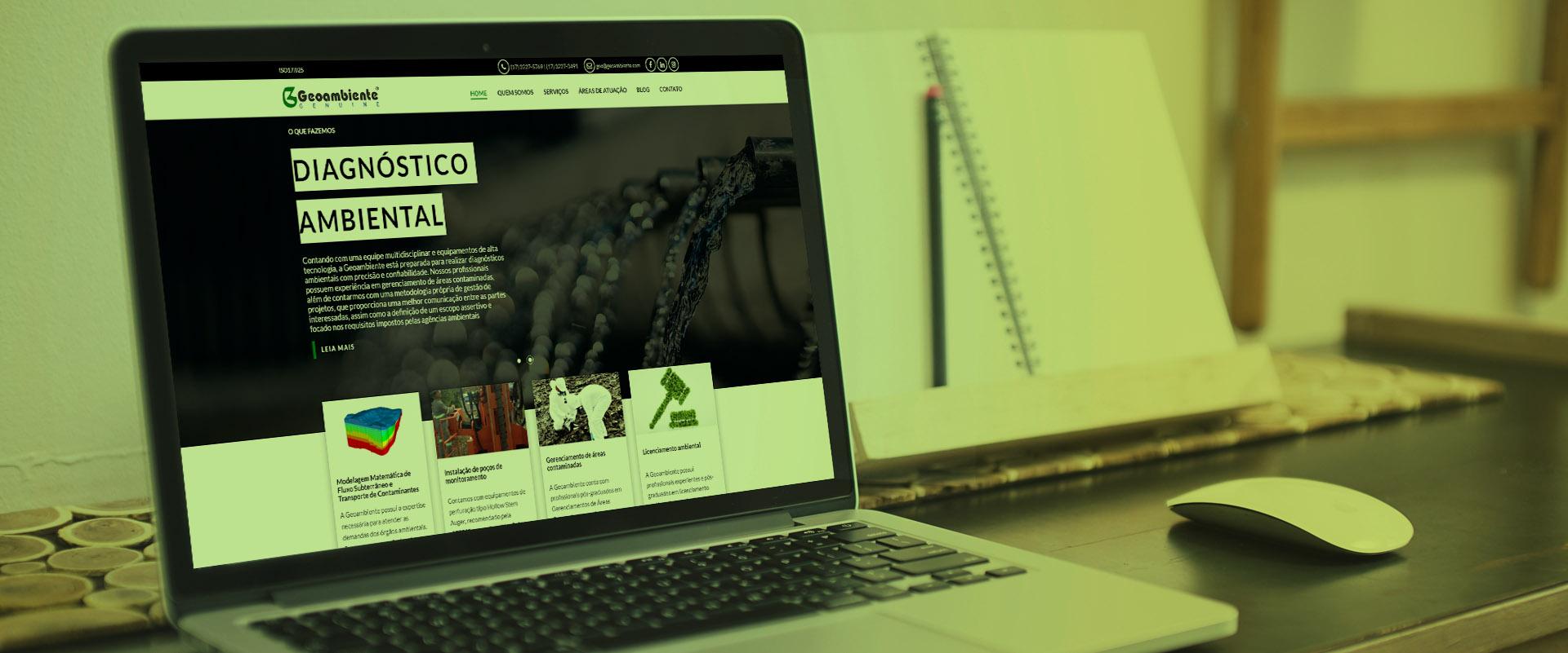 Criação de sites para empresas ambientais