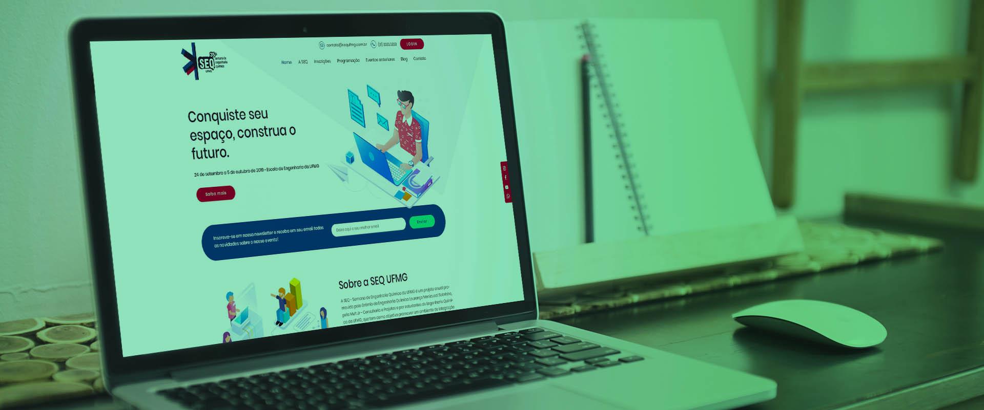 Criação de sites para eventos
